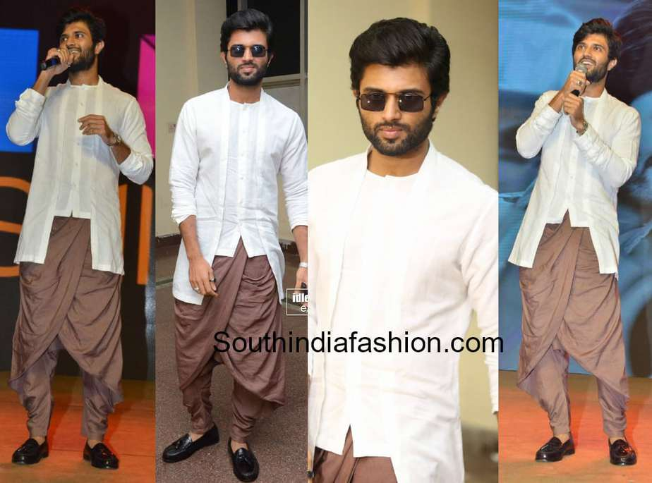 vijay devarakonda dress at geetha govindam success meet