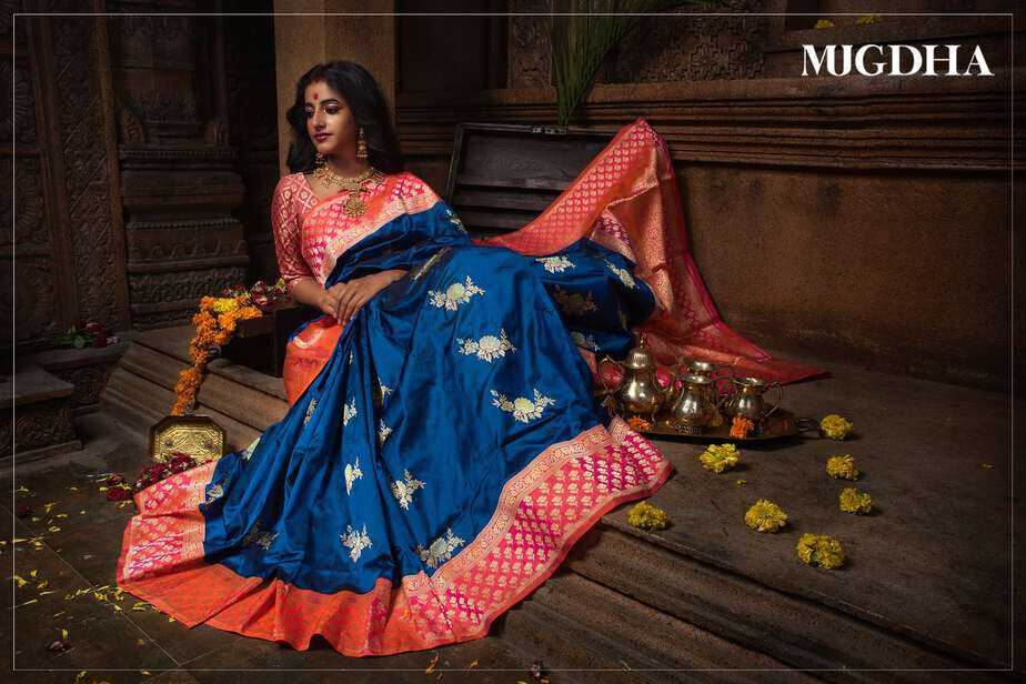 wedding silk sarees mugdha art studio