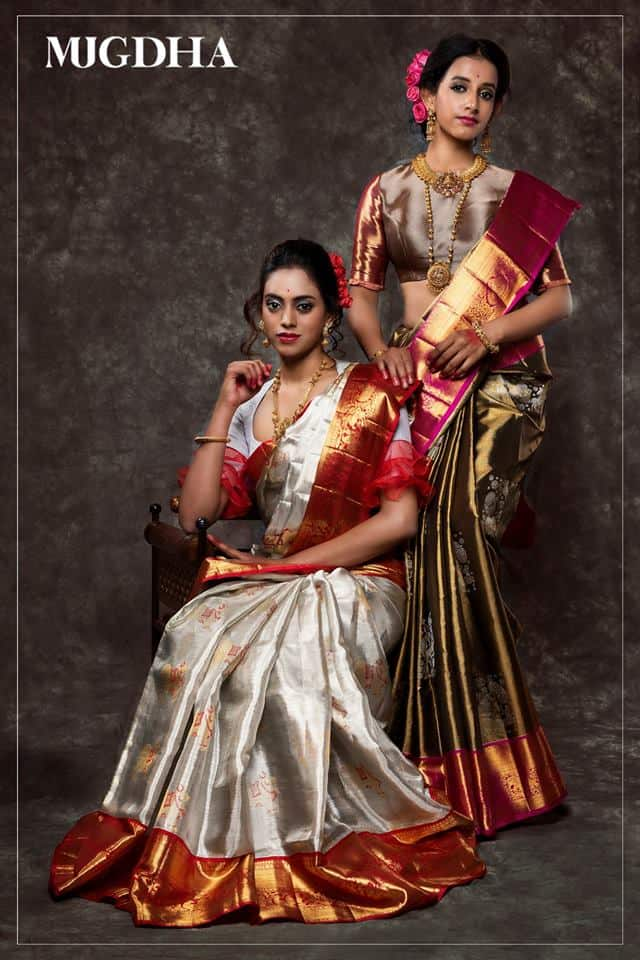 mugdha art studio collection pattu sarees