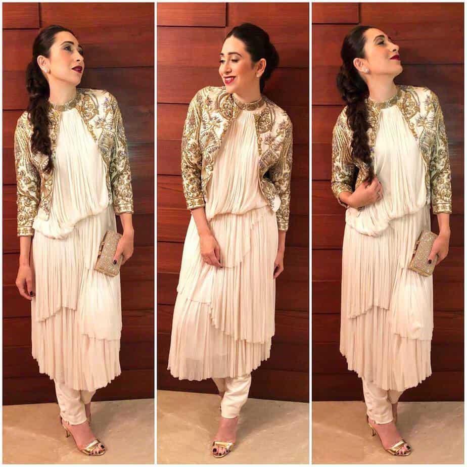Karisma Kapoor ethnic jacket