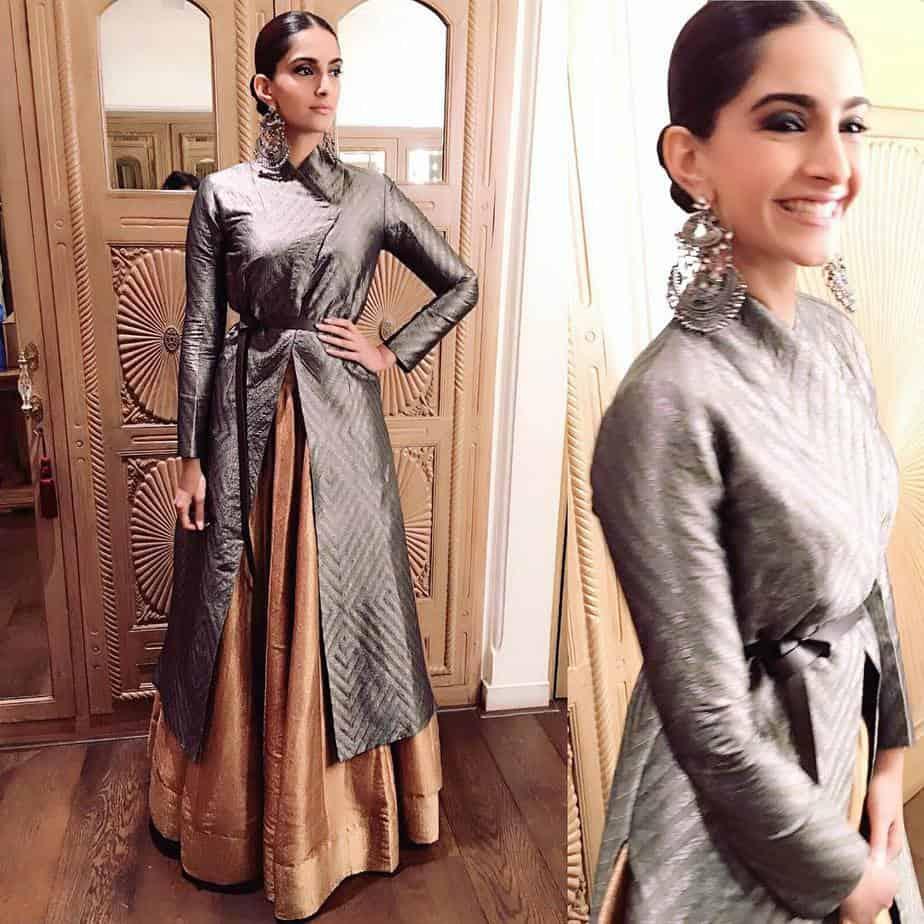 Sonam Kapoor ethnic jacket