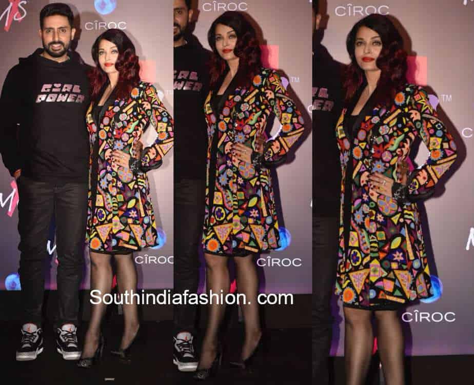 aishwarya and abhishek at shweta bachchan store launch