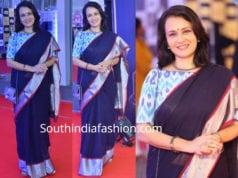 amala akkineni saree mirchi music awards 2018
