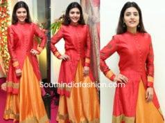 chitra shukla long skirt with kurta