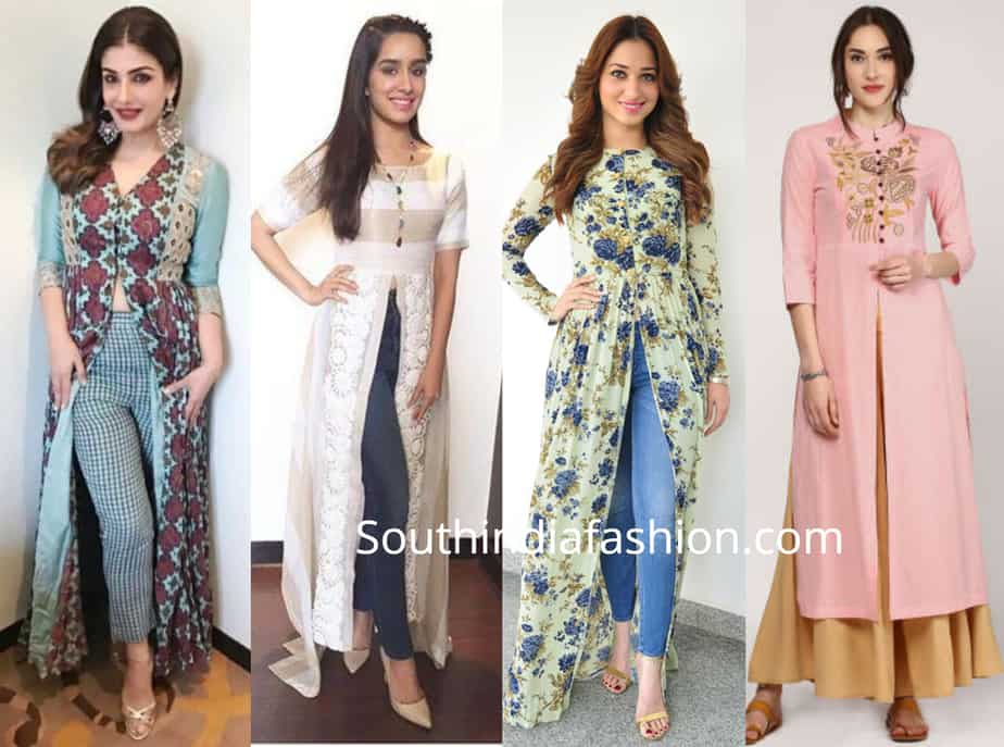 Indo Western Outfit Ideas For College Girls