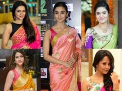 amazing festive saree blouses