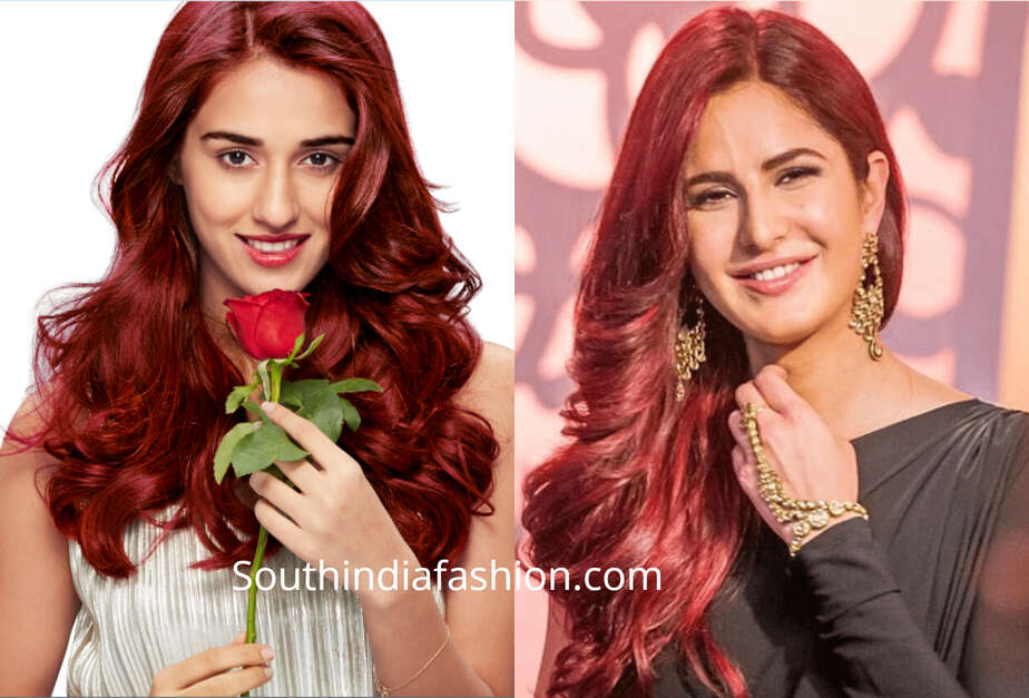 red hair color for indian skin