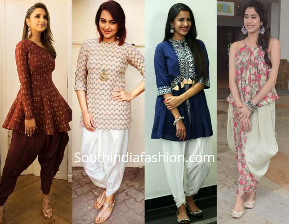 indo western dresses for college girls