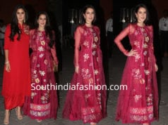 isabella kaif maxi dress at arpita khan sharma ganesh chaturthi celebrations