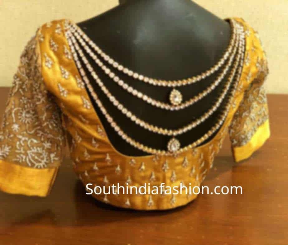 designer blouse by mantra the design studio