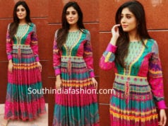 krithika kamra multi color maxi dress