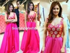 Meera Chopra pink gown jashn