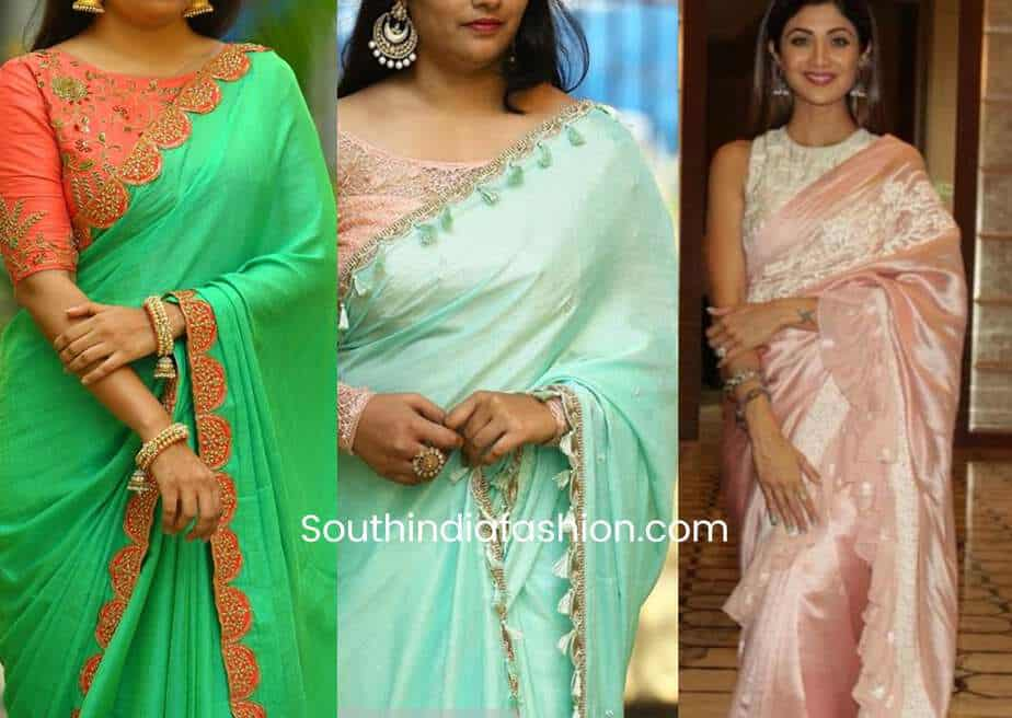 old saree makeover