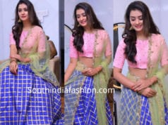payal rajput in ashwini reddy lehenga