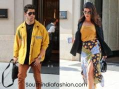 priyanka chopra and nick jonas in matching outfits