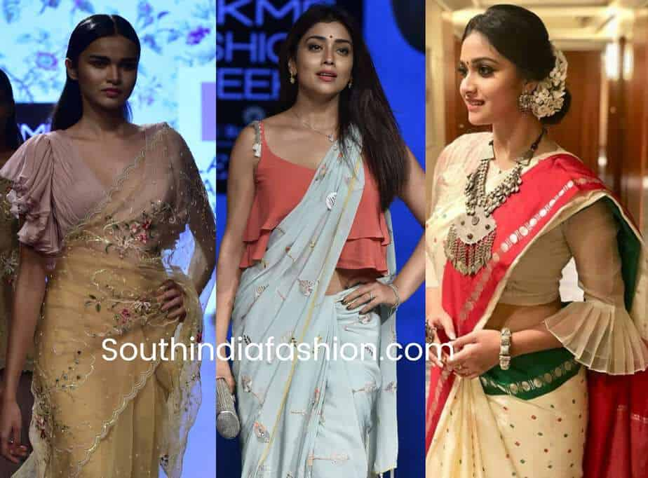 redesign old sarees