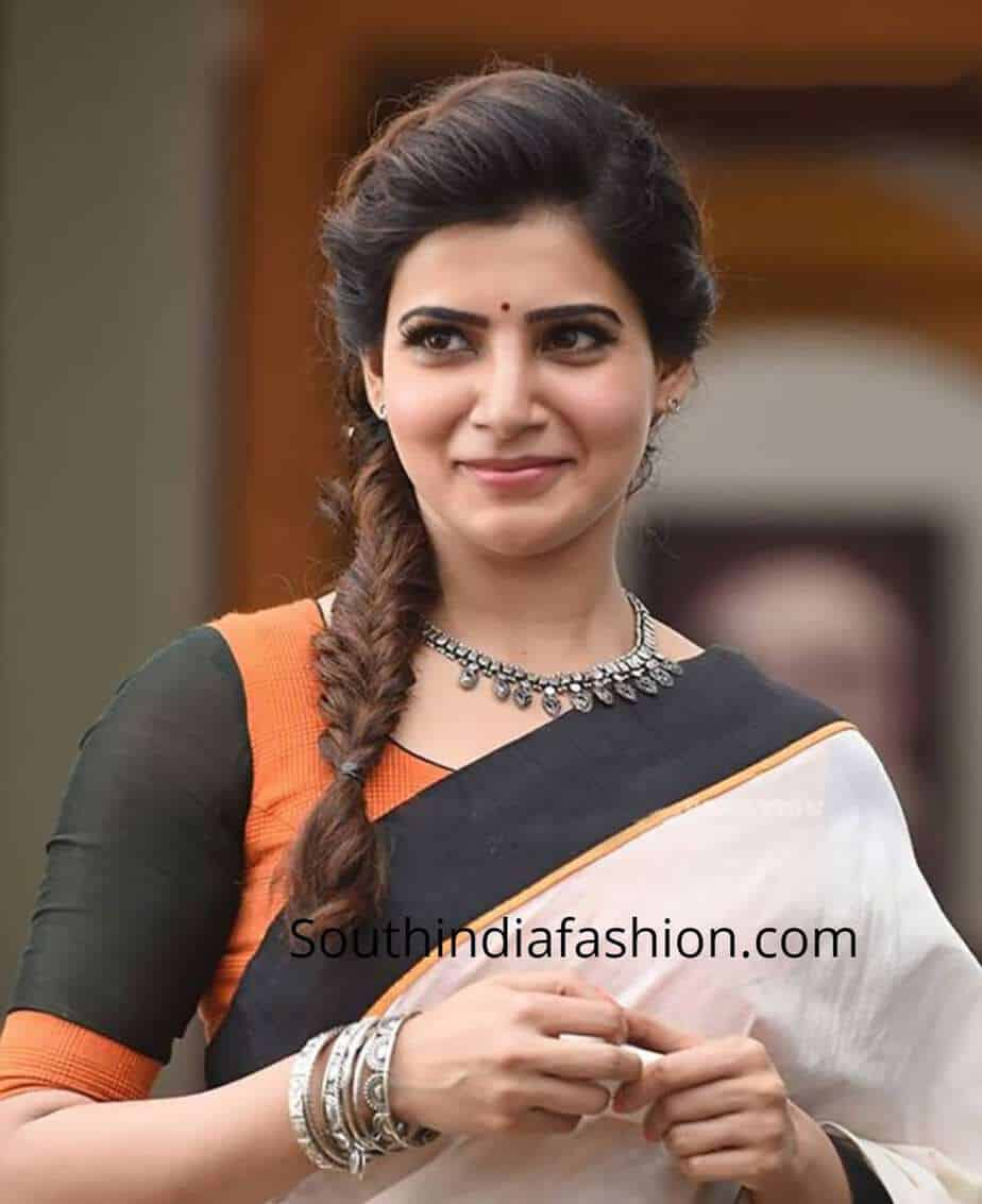 samantha hairstyle in theri