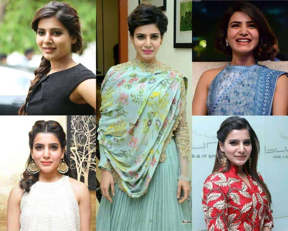 samantha hairstyles