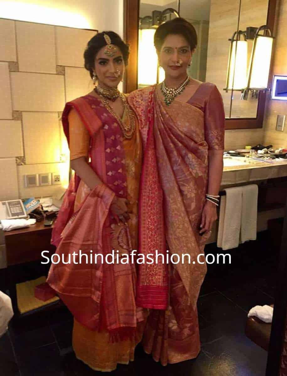 saree with dupatta