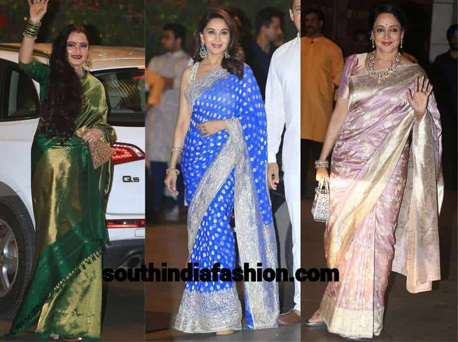 sarees at festival