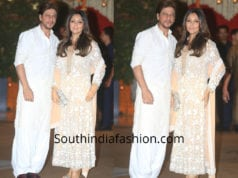 shah rukh and gauri khan at ambani ganapati celebrations 2018