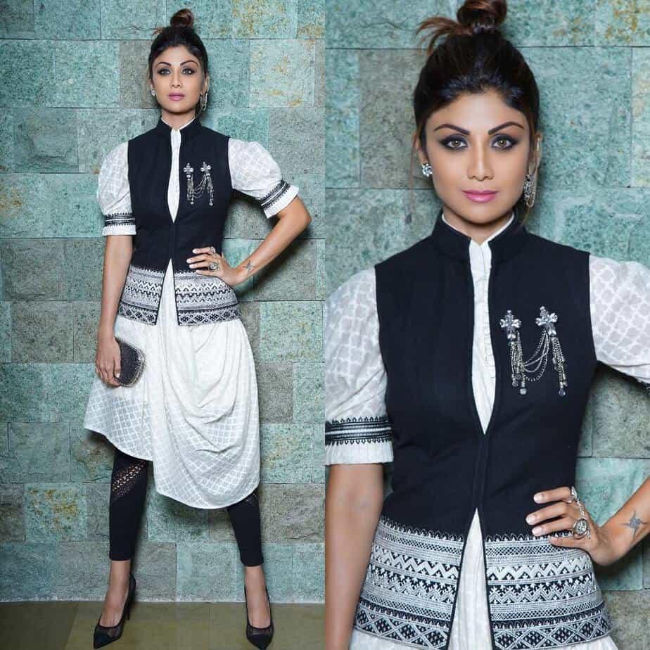 Shilpa shetty ethnic jacket