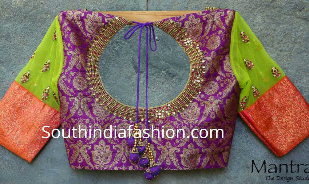 blouse designs by mantra