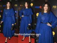 sonam kapoorblue dress jio mami film festival launch