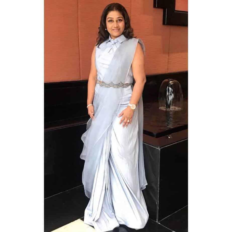 dolly jain saree draping styles