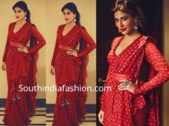 chitrangda singh red saree