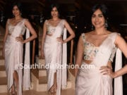 adah sharma saree gown