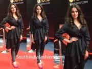 anita hassanandani black dress