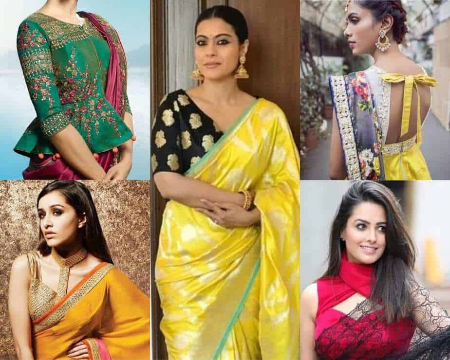 95e2194f626ad9 8 Ultra-Modern Blouse Designs To Go With Your Traditional Sarees!