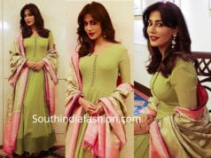 chitrangda singh green anarkali