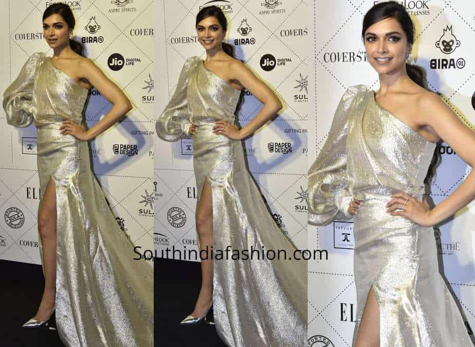 Deepika Padukone at Elle Beauty Awards 2018 – South India Fashion