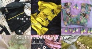 designer saree blouses shruthi reddy designers