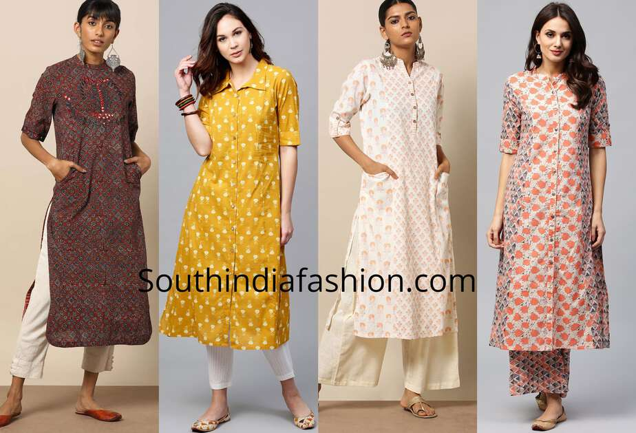 professtional formal office wear kurti designs
