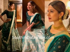 jennifer winget blue lehenga