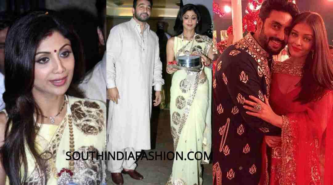 karva chauth sarees
