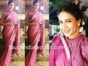 lavanya tripathi ruffle saree