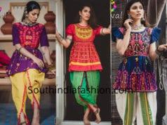 navaratri dhoti dresses women