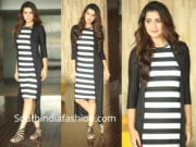 paayal rajput black dress
