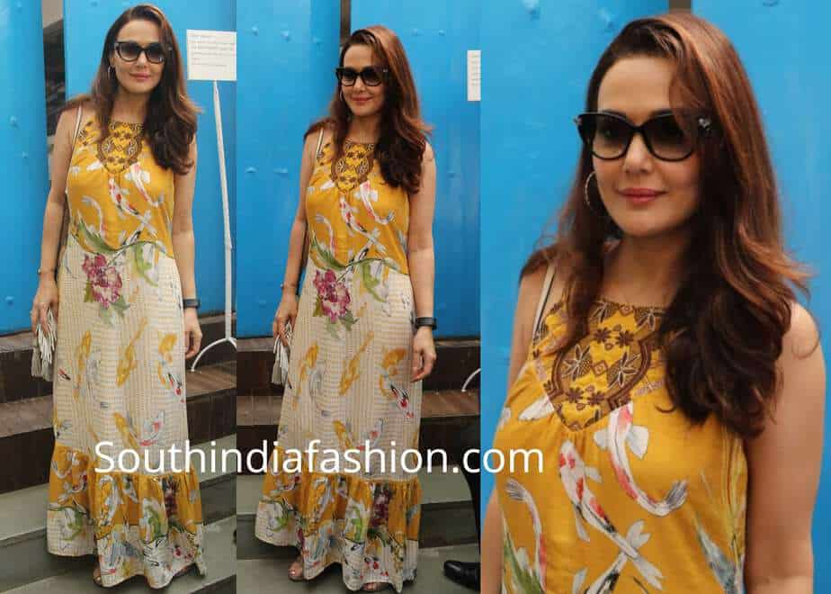 a8be04976e Preity Zinta at Neha Dhupia's Baby Shower – South India Fashion