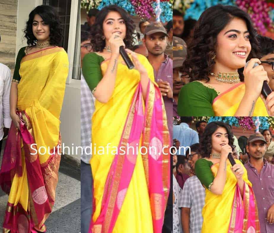 Pranitha Subhash In A Kanjeevaram Saree Wedding T