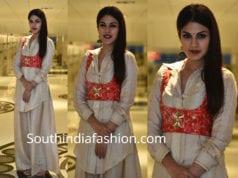 rhea chakraborty palazzo jacket jalebi promotions