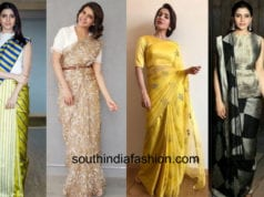 samantha saree looks
