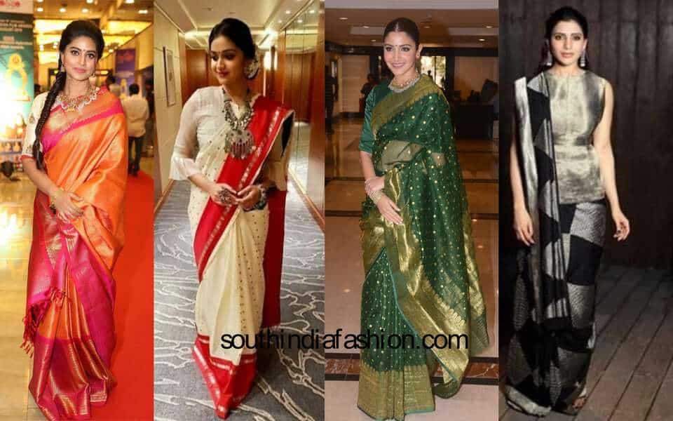 Bollywood Celebrity Sarees Collection | SareesBazaar.com ...