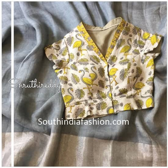 blouse designs by sruthireddy designers