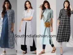 stylish formal kurti designs