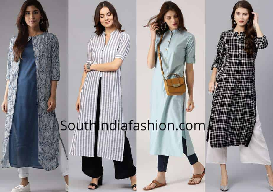 stylish formal kurti designs